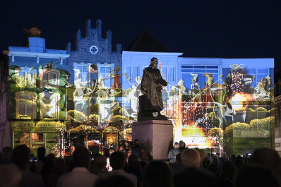 """""""500 years Jheronimus Bosch"""" - Sound Design for projection art by Mr. Beam"""