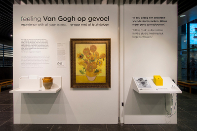 """Touching van Gogh"" - Sound Design for ""The Sunflowers""  at the permanent exhibition for blind and poorly sighted people at the van Gogh Museum"